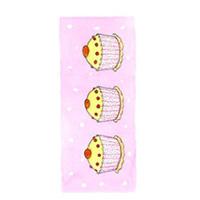 Tore kort, Vaniljmuffins på rosa