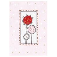 Pyttekort, Blomma rosa