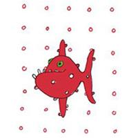 Pyttekort, Röd piraya