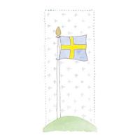 Tore kort, Svensk flagga