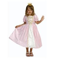Prinsessklänning rosa sammet