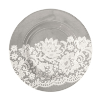 Liten assiette Liva, Warm grey