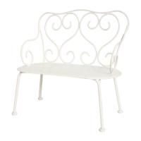 Romantic bench, Off white