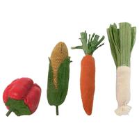 4 olika grönsaker