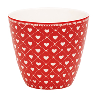 Lattemugg Haven, Red