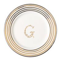 Liten assiette G, Silver