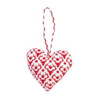 Xmas heart Reindeer, Red