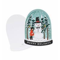 Kort med kuvert, Snow Globe