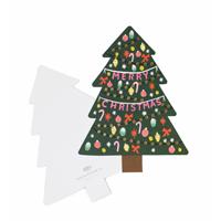 Kort med kuvert, Christmas Tree