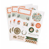 Etiketter, Holiday Stickers & Labels