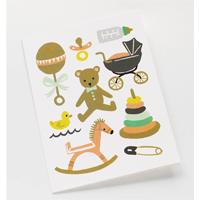 Kort med kuvert, Classic Baby