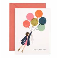 Kort med kuvert, Fly Away Birthday