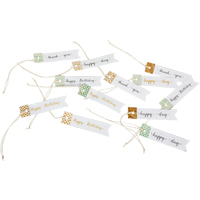 Paper Tags, 12pcs/pck