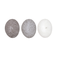 Candle stones Amanda, set of 3 pcs