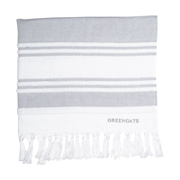 Hammam towel Stripe, Grey