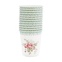 Paper cup Abelone, Mint 12 pcs
