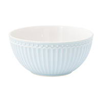 Cereal bowl Alice, Pale blue