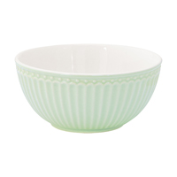 Cereal bowl Alice, Pale green