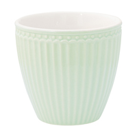 Lattemugg Alice, Pale green