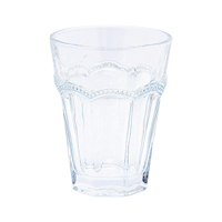 Water glass Abelone, Clear