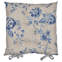 Seat cushion Nora, Blue