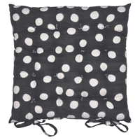 Seat cushion Paula, Dark grey