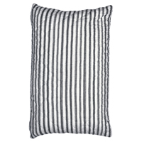 Kuddfodral Amanda, Dark grey stripe