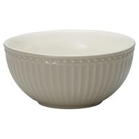 Cereal bowl Alice, Warm grey