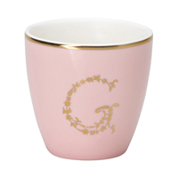 Mini lattemugg G, Pale pink