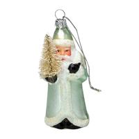 Santa glass December, Mint