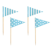 Partypicks, Ljusblå