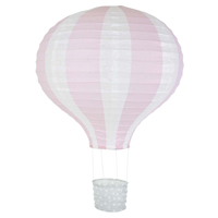 Rislampa Luftballong, Ljusrosa