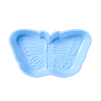Butterfly Shaped Silicone Baking Mold, Blue