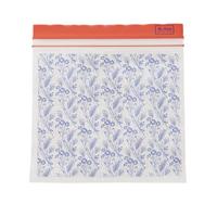 Medium Zipper Bags with Flower Field Print, 30 st