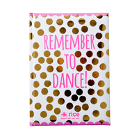 A5 Notebook, Remember to dance!
