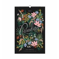 2017 Paradise Gardens Väggkalender