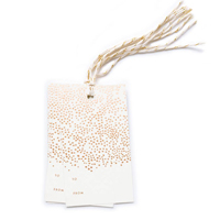 Set med 10 st Champagne Gift Tags