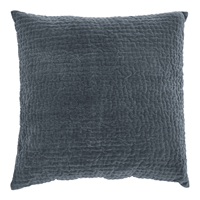 Kuddfodral Velvet, Dark grey