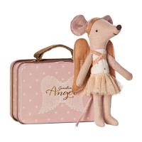 Skyddsängel mus i resväska