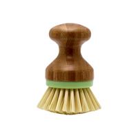 Diskborste, Bamboo w/green rim Small