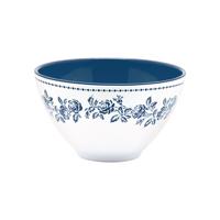 Cereal bowl Fleur, Blue
