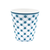 Melamine mug Lolly, Blue