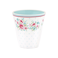 Melamine mug Tess, White