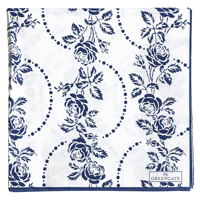 Servetter Fleur, Blue