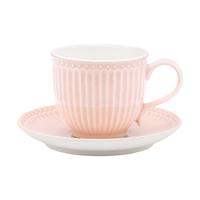 Kopp med fat Alice, Pale pink