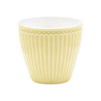 Lattemugg Alice, Pale yellow