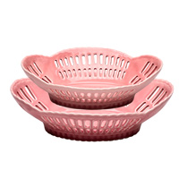 Fruit bowl, Pale pink