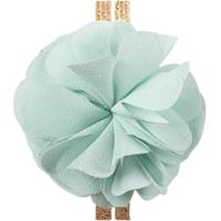 Hårband med blomma, Mint