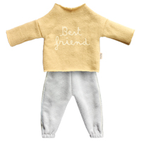 Best Friends, Jogging suit Yellow