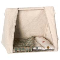 Tält till mössen med madrass